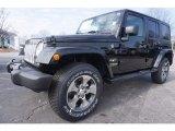 2017 Black Jeep Wrangler Unlimited Sahara 4x4 #119338849