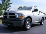 2009 Bright Silver Metallic Dodge Ram 1500 ST Regular Cab #11892132