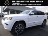 2017 Bright White Jeep Grand Cherokee Overland 4x4 #119338963