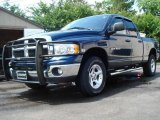 2005 Atlantic Blue Pearl Dodge Ram 1500 SLT Quad Cab 4x4 #11899054