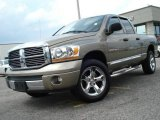 2006 Light Khaki Metallic Dodge Ram 1500 Laramie Quad Cab 4x4 #11883986