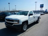 2017 Summit White Chevrolet Silverado 1500 WT Regular Cab #119355165