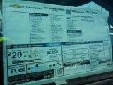 2017 Chevrolet Silverado 1500 WT Regular Cab Window Sticker