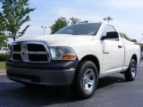 2009 Stone White Dodge Ram 1500 ST Regular Cab #11892147