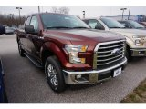2017 Bronze Fire Ford F150 XLT SuperCab 4x4 #119355219