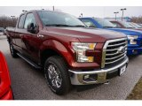 2017 Bronze Fire Ford F150 XLT SuperCab 4x4 #119355215