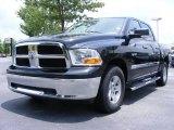 2009 Brilliant Black Crystal Pearl Dodge Ram 1500 SLT Crew Cab #11892234