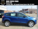 2017 Lightning Blue Ford Escape S #119354941