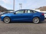 2017 Lightning Blue Ford Fusion SE #119354998