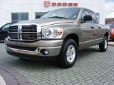 2008 Light Khaki Metallic Dodge Ram 1500 Big Horn Edition Quad Cab #11892345