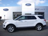 2017 Oxford White Ford Explorer XLT 4WD #119385164