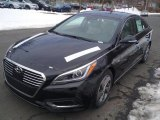 2017 Phantom Black Hyundai Sonata Limited Hybrid #119385217