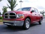 2009 Inferno Red Crystal Pearl Dodge Ram 1500 SLT Crew Cab #11892173