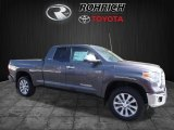 2017 Magnetic Gray Metallic Toyota Tundra Limited Double Cab 4x4 #119385196