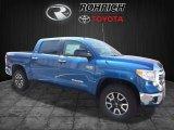 2017 Blazing Blue Pearl Toyota Tundra SR5 CrewMax 4x4 #119385192