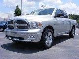 2009 Bright Silver Metallic Dodge Ram 1500 Big Horn Edition Crew Cab #11892186