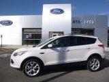 2013 White Platinum Metallic Tri-Coat Ford Escape Titanium 2.0L EcoBoost 4WD #119385171