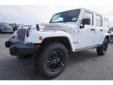 2017 Bright White Jeep Wrangler Unlimited Winter Edition 4x4 #119384895