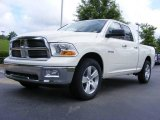 2009 Stone White Dodge Ram 1500 Big Horn Edition Quad Cab #11892207