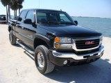 2006 Onyx Black GMC Sierra 2500HD SLT Crew Cab 4x4 #119384789