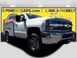 2017 Summit White Chevrolet Silverado 2500HD Work Truck Regular Cab 4x4 #119408082