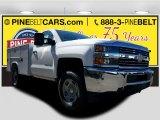 2017 Summit White Chevrolet Silverado 2500HD Work Truck Regular Cab 4x4 #119408081