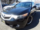 2010 Crystal Black Pearl Acura TSX V6 Sedan #119408301