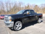 2017 Black Chevrolet Silverado 2500HD Work Truck Double Cab 4x4 #119408233