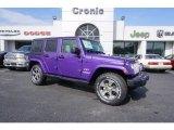 2017 Extreme Purple Jeep Wrangler Unlimited Sahara 4x4 #119435926