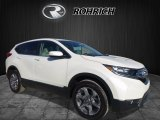 2017 White Diamond Pearl Honda CR-V EX-L AWD #119435792