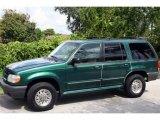 2001 Tropic Green Metallic Ford Explorer XLS #11894047