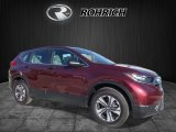 2017 Basque Red Pearl II Honda CR-V LX AWD #119435780