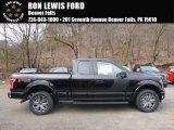 2017 Shadow Black Ford F150 XLT SuperCab 4x4 #119435812