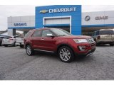 2016 Ruby Red Metallic Tri-Coat Ford Explorer Limited #119435996