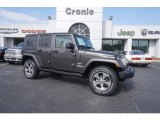2017 Granite Crystal Metallic Jeep Wrangler Unlimited Sahara 4x4 #119435929