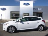 2012 Oxford White Ford Focus SEL 5-Door #119436140