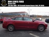 2017 Ruby Red Ford Fusion SE #119435804