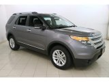 2014 Sterling Gray Ford Explorer XLT 4WD #119436121