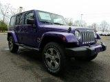 2017 Extreme Purple Jeep Wrangler Unlimited Sahara 4x4 #119464004