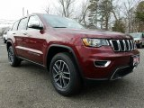 2017 Velvet Red Pearl Jeep Grand Cherokee Limited 4x4 #119463998