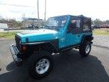 1997 Jeep Wrangler Lapis Blue