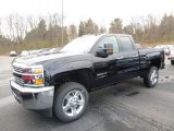 2017 Black Chevrolet Silverado 2500HD Work Truck Double Cab 4x4 #119481025