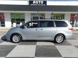 2016 Silver Sky Metallic Toyota Sienna XLE #119481105