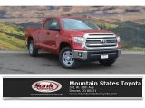 2017 Barcelona Red Metallic Toyota Tundra SR5 Double Cab 4x4 #119480894