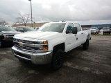 2017 Summit White Chevrolet Silverado 2500HD Work Truck Crew Cab 4x4 #119481184