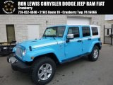 2017 Chief Blue Jeep Wrangler Unlimited Chief Edition 4x4 #119503213