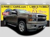 2014 Brownstone Metallic Chevrolet Silverado 1500 LTZ Double Cab 4x4 #119503153