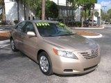 2008 Desert Sand Mica Toyota Camry LE #1188308