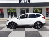 2017 White Diamond Pearl Honda CR-V Touring #119525995