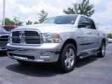 2009 Bright Silver Metallic Dodge Ram 1500 Big Horn Edition Crew Cab #11892229